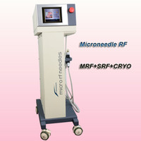 Wholesale mesotherapy shipping for sale - Group buy microneedle rf micro needle mesotherapy best face rejuvenation machines MRF SRF Cryo handle for salon use