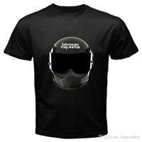 punk metal camiseta al por mayor-Camiseta de hombre Turbonegro Party Animals Metal Punk Rock Band Negro Talla S-3XL