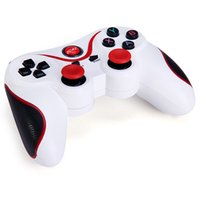 Wholesale wireless bluetooth game controller pad - sin Bluetooth Gamepad Joystick Wireless Game Pad Joypad Gaming Controller Remote Control For Samsung S8 Android Phone Smart TV Box PC C8 X3