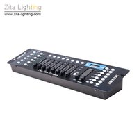 Wholesale dmx consoles - Zita Lighting Lighting Controller 192 DMX 512 Console Portable Lighting Operate Par Lights Moving Head Blinder Stage Lights Fixture Control