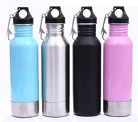 Wholesale fedex colors - New Beer Bottle Armour Koozie Keeper Stainless Steel bottle Insulator with Bottle Opener 6 colors DHL FEDEX Free shipping