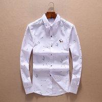 06781bb3c Famosa marca de estilo británico Slim Fit camisa masculina con estilo de  calidad superior de manga larga de negocios Casual camisas para hombres  ropa de ...