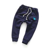 pantalones flojos chicos al por mayor-2-7Y Pantalones para bebés Pantalones para niños para niños Sprots para niños Pantalones Ropa interior para niños