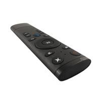 kutu vcr toptan satış-Popüler moda Ses kontrolü hava fare uzaktan android tv kutusu için ücretsiz kargo Sıcak satış dhl ücretsiz gemi