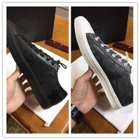 Wholesale genuine software - 2018 hot sale new season design men shoes European brand genuine leather software fashion breathable canvas shoes top quality causal