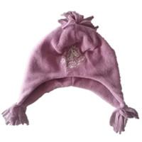 chapéu do computador venda por atacado-Animais unicórnio cavalo Computador bordados grossos Chapéus de Tricô borla Cap Inverno Suave Proteção de Orelha Forro de Lã Gorros