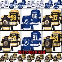 Wholesale Hockey 33 - Bruins Tampa Bay Lightning 91 Steven Stamkos Nikita Kucherov 33ZdenoChara Jersey 37PatriceBergeronBradMarchandDavidPastrnak Jerseys