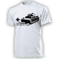 военное оружие оптовых-Немецкий танк оружие 4; Iv Wh Wk автомобиль военный # 15119; футболка печати Tee мужчины с коротким рукавом одежда