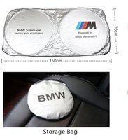 bloque universal al por mayor-Parabrisas del automóvil universal Bloques parasoles Rayos UV Visera plegable para BMW Benz Audi Toyota Lexus Honda Volvo Cadillac Alta calidad