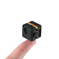 enregistrement de caméra de cycle achat en gros de-Vision nocturne Mini caméra SQ11 voiture DVR caméscope 1080P HD pré-vente 10 jours 120 degrés FOV enregistrement cycle de boucle détection de mouvement