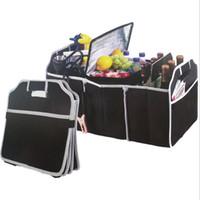 schmuckkoffer großhandel-Gute qualität Auto Kofferraum Organizer Auto Spielzeug Frischhaltedose Taschen Box Styling Autoinnenausstattung Liefert Getriebe Produkte