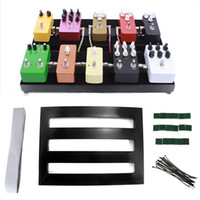 Wholesale Guitar Effect Pedalboard Portable Effects Pedal Board With Adhesive Backing Tape MUSIC