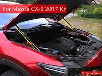 Wholesale hood struts - For Mazda CX5 Hydraulic Rod Refit Front Hood Engine Cover Hydraulic Rod Strut Spring Shock Bar For Mazda CX-5 2017 2018 KF