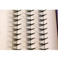 synthetic false eyelashes Australia - 0.07mm High Quality Synthetic Mink Lashes Individual False Eyelash Extension 60 clusters 10 strands Thick Fake Eye lash 8mm-13mm