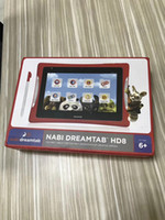 Wholesale new tablet for kids online - Brand new inch Tablet pc for kids Foxconn NABI DREAMTAB presents G GB quad core dual Camera for vedieo chat with solicone case