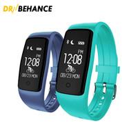 Wholesale Heart S1 - 50pcs Smart Bracelet S1 Heart Rate and Blood Oxygen Monitor Sport Fitness Tracker Bluetooth Smart Watch Wristband Sleep Monitor
