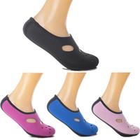 çoraplar damla nakliye toptan satış-Su Sporları Dalış Çorap Çocuk Yetişkin Plaj Çorap Nefes Çabuk Kuruyan Yüzme Sörf Islak Elbise Ayakkabı Desteği FBA Drop Shipping G451S