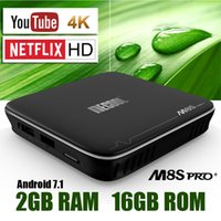 Wholesale Hd Software - Software OTA update Mecool Android Box S905X TV Boxes 2GB 16GB with KD add-ons IPTV STBemu Stalker Chromecast YouTube 4K Netflix HD