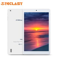 tabletten zoll großhandel-Teclast P80H PC Tablets 8 Zoll Quad Core Android 5.1 64 Bit MTK8163 IPS 1280x800 Dual WIFI 2,4 G / 5 G HDMI GPS Bluetooth Tablet PC