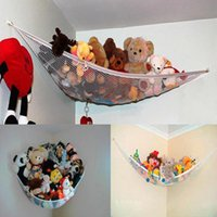 Wholesale toy nets resale online - 2015 New Hot sale Large Pet Storage Corner Stuffed Animals Toys Toy Net Hammock for home baby children New