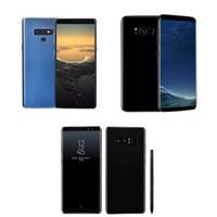 note phone оптовых-Бесплатный DHL Goophone 9 plus Примечание 8 N9 Android7.0 разблокированных смартфонов Quad Core показано 4G LTE Octa core 4 ГБ ОЗУ 64 Гб ROM запечатанная коробка