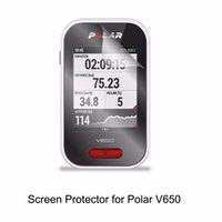 Wholesale Screen Protector For Gps - 3* Clear LCD PET Film Anti-Scratch Screen Protector Cover for Handheld GPS Polar V650 Accessories
