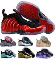 Wholesale Brand Sports Shoes China - 2018 Air Penny Hardaway Basketball Shoes Sneakers Men Mens Youth One Pro 1 Sky Blue Replicas China Brand Man Tennis Sport Shoe Cheap