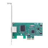convertidor de escritorio al por mayor-Alta calidad 8111C Adaptador Gigabit Ethernet PCI-E Tarjeta de Controlador de Red RJ45 Lan Adapter Converter para computadora de escritorio PC