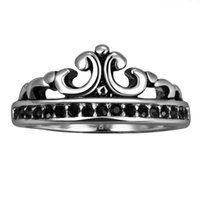 Wholesale Stainless Steel Penis - 4.6g Cheap Black Stone Punk Penis Ring Stainless Steel 1% Biker Ring