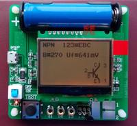 kits de condensadores al por mayor-Nuevo 3.7 V Original Inductor Condensador ESR medidor Kit Condensador de Prueba Circuito DIY MG328 probador de transistor multifunción