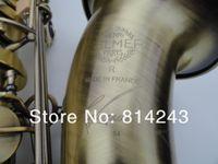 Wholesale Selmer 54 - Henri Selmer Bb Tenor Saxophone Drop B Brass Saxophone Instruments Reference 54 Unique Bronze Sax Musical Instruments With Case Mouthpiece