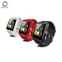 оригинальный u8 smartwatch оптовых-U8 smartwatch оригинальный Bluetooth Smart Watch прохладный спортивные часы для Android телефон Samsung iPhone пульт дистанционного управления, чтобы сфотографировать