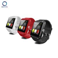 steuern bluetooth fotos großhandel-U8 smartwatch original Bluetooth Smart Uhr coole Sportuhr für Android-Handy Samsung iphone Fernbedienung, um Foto zu machen