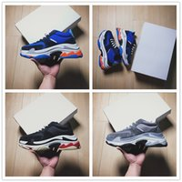 Wholesale Old Cheap - 2018 Hot INS Luxury Shoes Designer Paris 2 17FW Triple-S Sneaker Triple S Running Shoes for Cheap AAA+ Original Retro Old Dad Shoe EUR 40-44