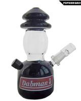 óleo lanternas vidro venda por atacado-SAML 16 cm de Altura Dabman Oil Rigs Lanterna Rig tubulação de água de fumar Galss bongos de Vidro Plataforma de Petróleo Joint tamanho 14.4mm PG5057
