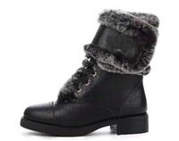 kışlık bot modelleri toptan satış-Yeni sıcak yeni kadın moda kış-olmalıdır yuvarlak kafa Martin çizmeler Louissuitto patlama modelleri bayan botları serisi 35--41