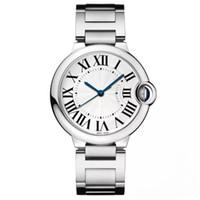 logotipo de marca de relógio de luxo venda por atacado-Famoso logotipo famoso designer de assistir nova marca de moda de luxo relógio produto em homens e relógios de quartzo relógio de aço inoxidável para as mulheres