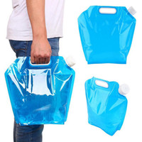 Wholesale big bags for sale resale online - Portable Wate Bag For Outdoor Camping Hiking Climb Sports Picnic BBQ Lightweight Big Capicity Foldable Water Storage Hot Sale LJJN34