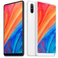 xiaomi nfc mobile al por mayor-Original Xiaomi Mi Mix 2S 128GB / 64GB ROM 6GB RAM Android Mobile Snapdragon845 Octa Core 5.99