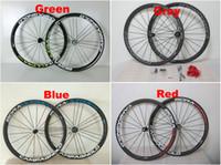 Wholesale Bike Carbon Wheels Sale - Sale CAMPAGNOLO BORA ULTRA Carbon Road Wheelset 38mm Clincher bicycle wheels R36 Matte Glossy Carbon Wheelset