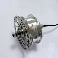 Wholesale brushless motor bicycle - 24V 36V 48V 250W Electric Bicycle Brushless Motor YOUE Hub Motor For Electric Bike Front Wheel Motor Can With Brake Disc Rotor