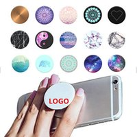 Wholesale pop up stands - Smart Pop out Stand Grip Holder Soket Pop Up Phone Stand Support Socket Expanding Grip Holder for Iphone, Galaxy, Smartphones and Tablet