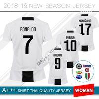 543fd400f 18 19 Juventus Soccer Jersey women 2018 2019 juve 7 RONALDO 9 HIGUAIN 10  DYBALA 11 D. Costa 17 MANDZUKIC Football shirt uniforms