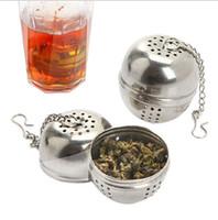 boule de thé en vrac achat en gros de-Filtre à tamis en acier inoxydable avec filtre à tamis avec crochet et accessoires de cuisine en vrac