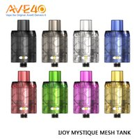 Wholesale disposable packing box online - Original IJOY Mystique Mesh Tank ml Capacity Disposable Atomizer for IJOY Mystique W Box Mod pc pack