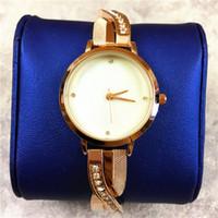 новые дизайны часов для девочек оптовых-2019 новые роскошные женские часы специальный дизайн группа полный алмаз леди высокое качество розовое золото ювелирные изделия подарок для девочек прямая поставка