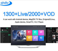 Wholesale 1 Years QHDTV Sports Italy UK Germany Europe IPTV Arabic Iptv Channels Streaming IPTV Account Apk Work on Android smart tv and so on