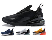Wholesale plus size rubber - Vapormax 270 Plus Running Shoes Classic Outdoor Run Shoes Vapor tn Black White Sport Shock Sneakers Men In Metallic 39-45 size