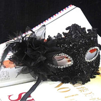 estilos de bola de mascarada venda por atacado-Laço de alta Qualidade Máscara Venetian Masquerade Carnaval Mascarado Bola Fancy Dress Costume Novo 4 Estilo