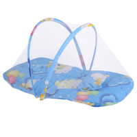 Wholesale toddler mosquito net for sale - Summer Infant Mosquito Net Newborn Mosquito Net Portable Foldable Baby Colors Cradle Tent Bed Toddler